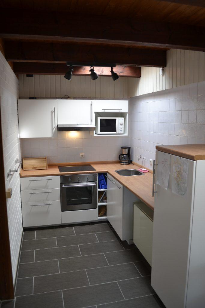 Die Küchenzeile wurde in 2018 komplett erneuert.