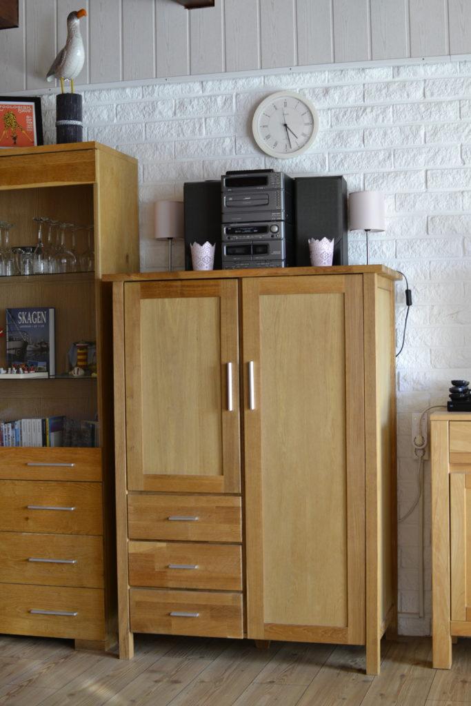 Zusätzlicher Schrankplatz im Wohnzimmer